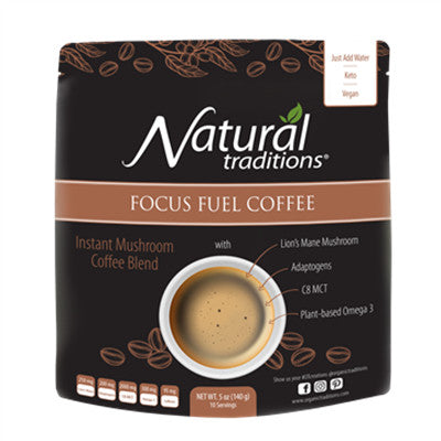 Natural Traditions Focus Fuel Coffee 140g