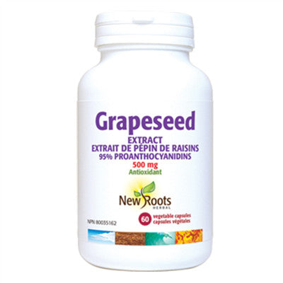 New Roots Grapeseed Extract 500mg