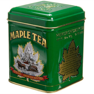 Metropolitan Tea Maple Tin 12 Tea Bags