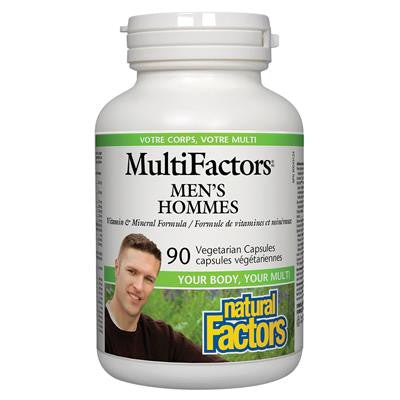 Natural Factors MultiFactors® Men's 90 VCapsules