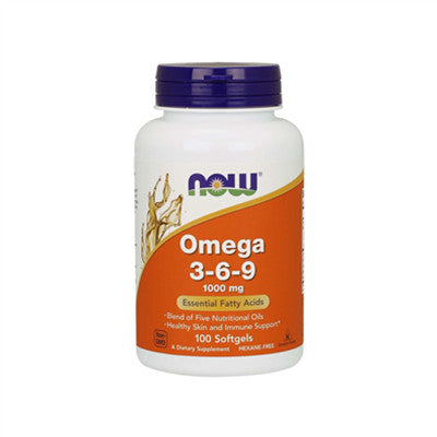 Now Omega 3-6-9 1000mg 100 Softgels