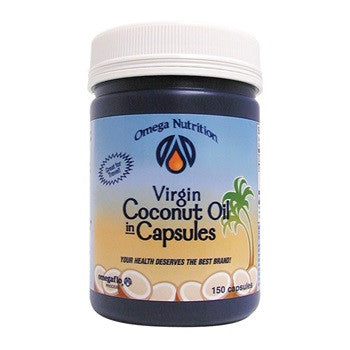 Omega Nutrition Virgin Coconut Oil 150 Capsules