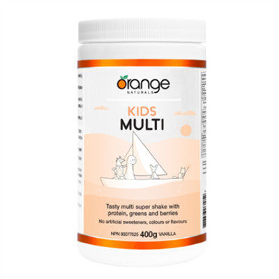 Orange Naturals Kids Multi Vanilla 400g