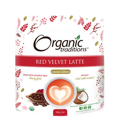 Organic Traditions Red Velvet Latte Limited Edition 150g