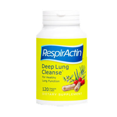 Sunforce RespirActin Deep Lung Cleanse 120 VCapsules