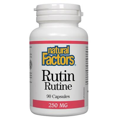 Natural Factors Rutin 250 mg 90 Capsules