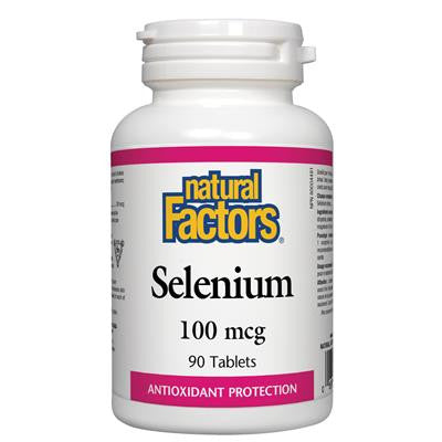Natural Factors Selenium 100mcg 90 Tablets