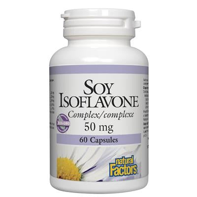Natural Factors Soy Isoflavone Complex 50 mg 60 Capsules