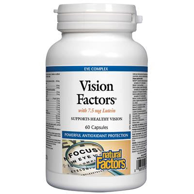 Natural Factors Vision Factors® with 7.5 mg Lutein 60 Capsules