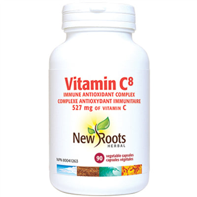 New Roots Vitamin C8 572mg 90 vCapsules
