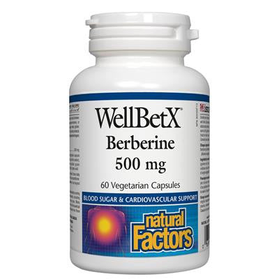 Natural Factors WellBetX Berberine 500 mg 60 VCapsules