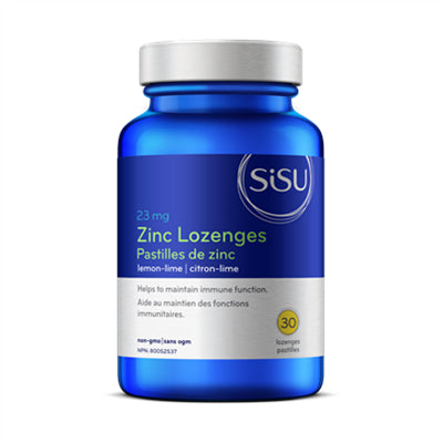 Sisu Zinc Lemon Lime 30 Lozenges