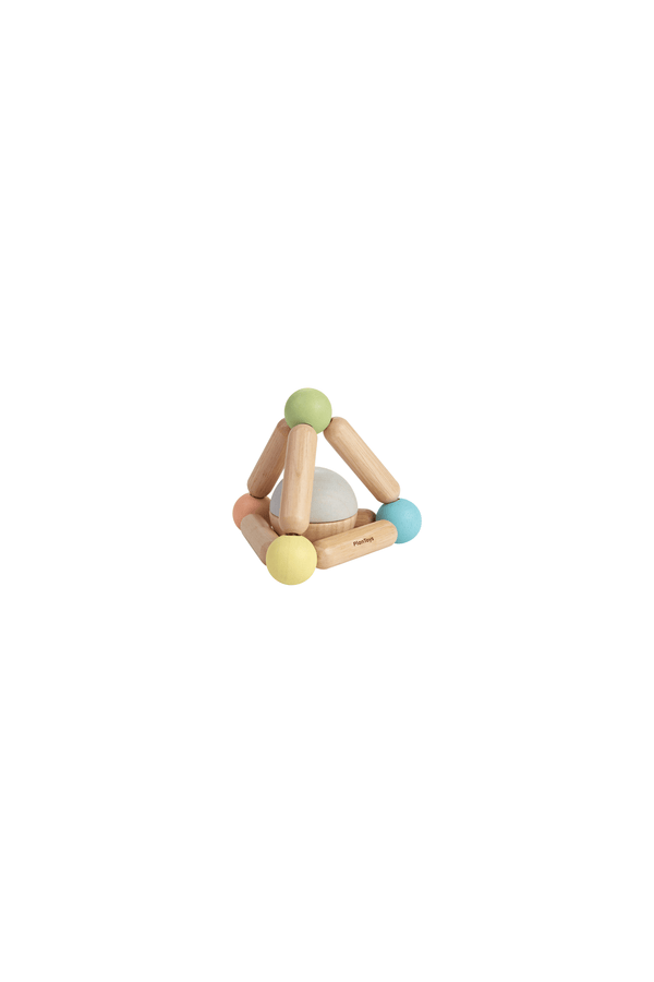 TRIANGLE CLUTCHING TOY PASTEL