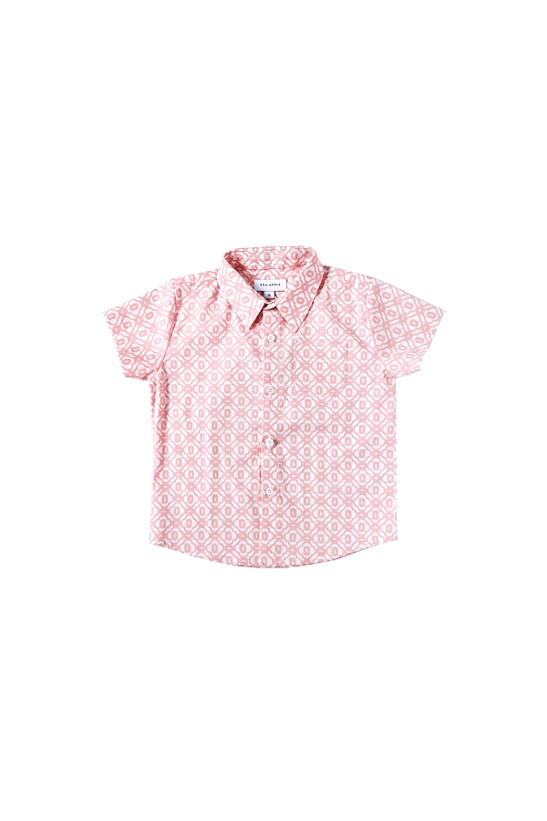 Coral Sea Collared Shirt