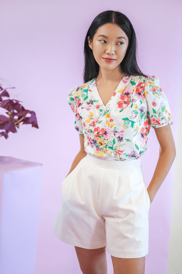 Sea Apple MEADOW PLEATED TOP & SKIRT SET