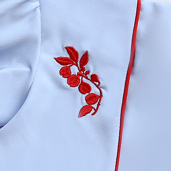 Sea Apple Nutmeg Flower Flutter Cheongsam