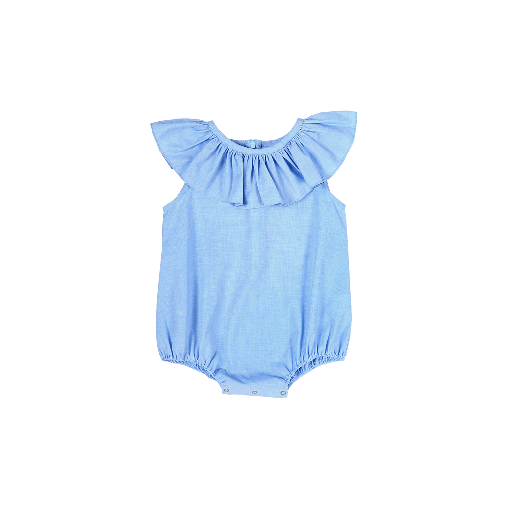 Pastel Blue Sunsuit