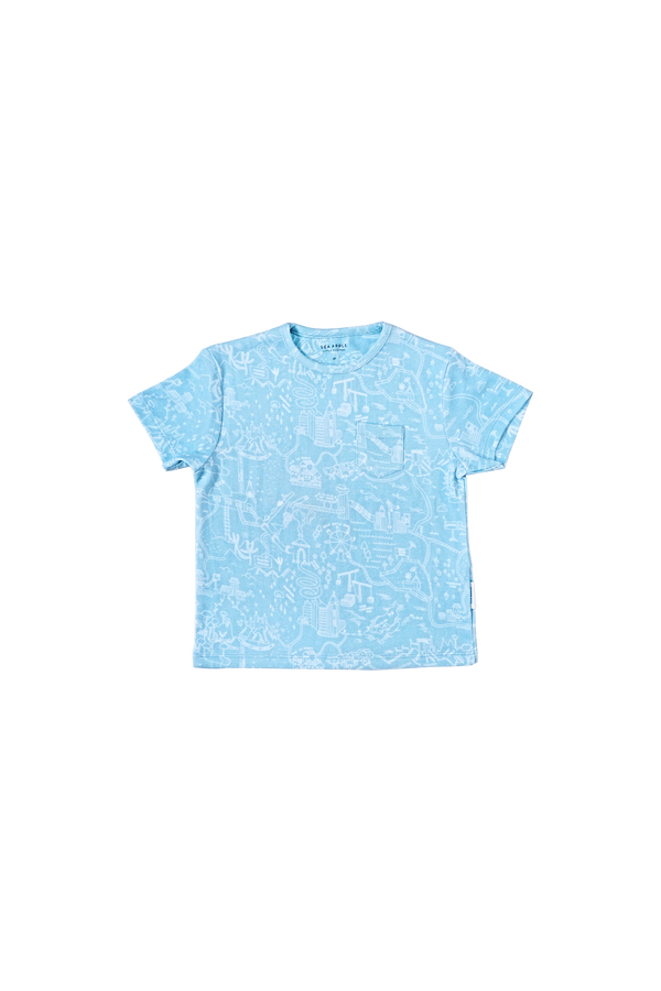 THE LAND OF LOST THINGS BLUE TSHIRT