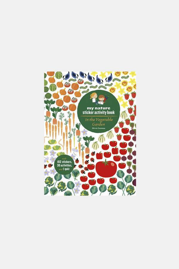 In The Vegetable Garden My Nature Sticker Activity Book