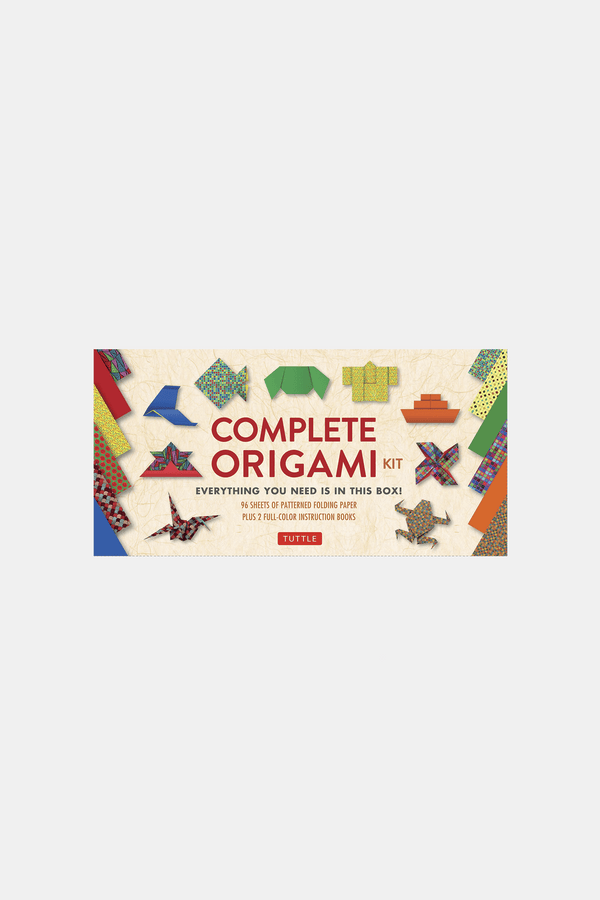 The Complete Origami Kit Book