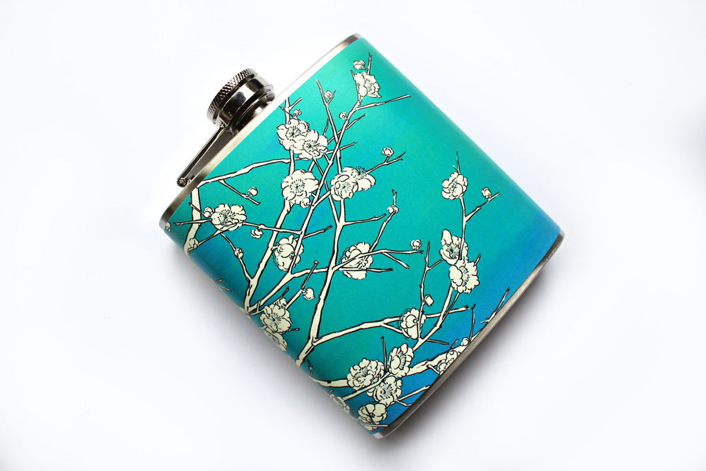 Japanese Cherry Blossom Flask - Harmless Habit - 1