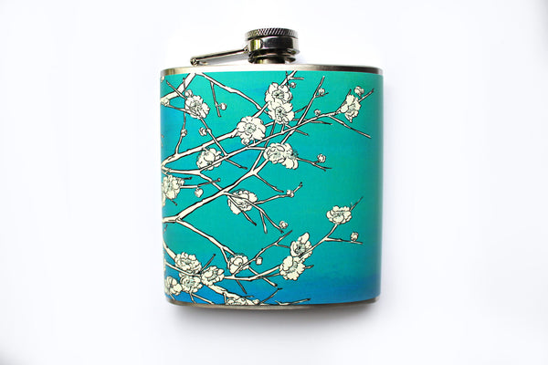 Japanese Cherry Blossom Flask - Harmless Habit - 2