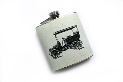Old Automobile Flask - Harmless Habit - 1