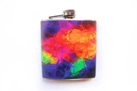 Jewel and Color Cloud Flask - Harmless Habit - 1