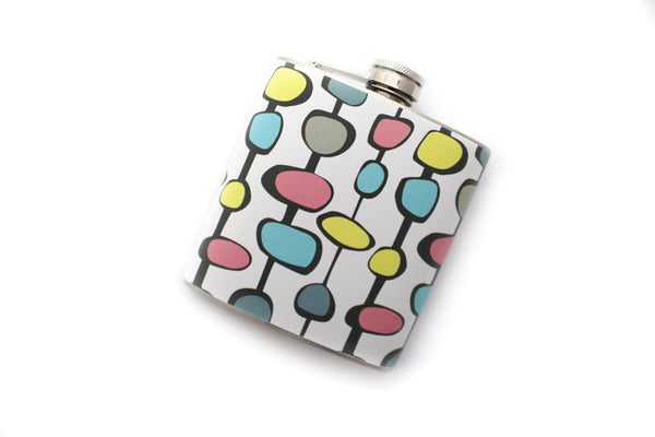 Retro Patterned Flask - Harmless Habit - 2