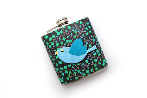 Blue Bird Flask - Harmless Habit - 1