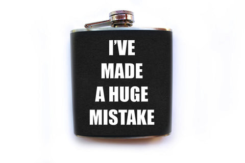 I've Made a Huge Mistake Arrested Development Flask - Harmless Habit - 1