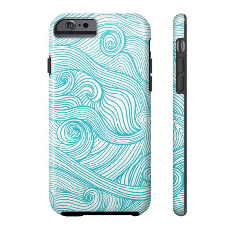 Beach Waves Phone Case - Harmless Habit - 1