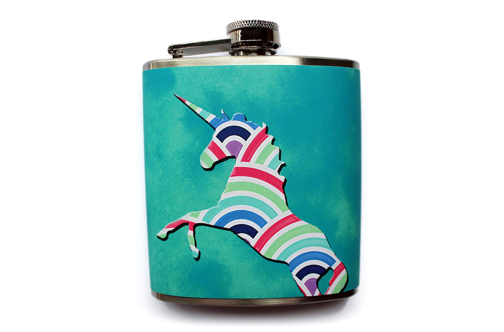 Majestic Unicorn Flask - Harmless Habit - 1