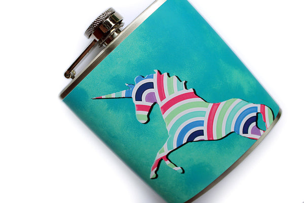 Majestic Unicorn Flask - Harmless Habit - 2