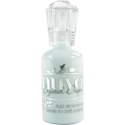 NUVO CRYSTAL DROPS – DUCK EGG BLUE – 680N