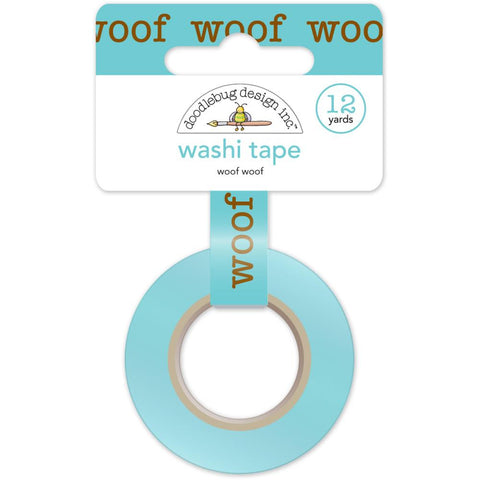 Puppy Love Washi Tape - Woof Woof