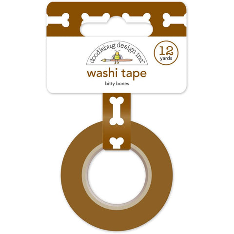 Puppy Love Washi Tape - Bitty Bones