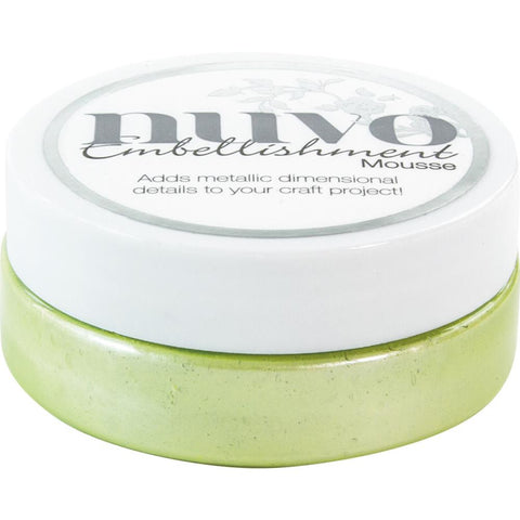 Spring Green - Nuvo Embellishment Mousse