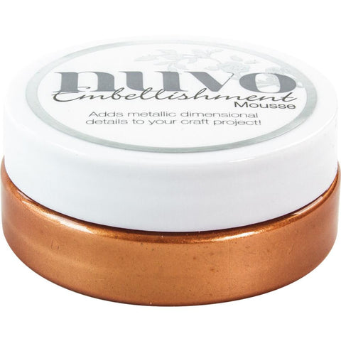 Fresh Copper - Nuvo Embellishment Mousse