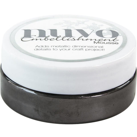Black Ash - Nuvo Embellishment Mousse