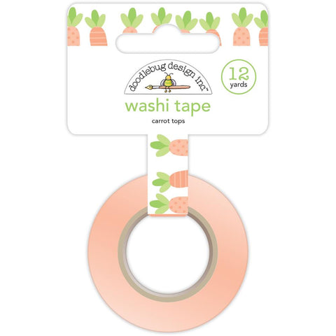 Easter Express Washi Tape - Carrot Tops