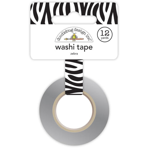 At The Zoo Washi Tape - Zebra