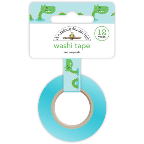 Dragon Tails Washi Tape - Sea Serpents