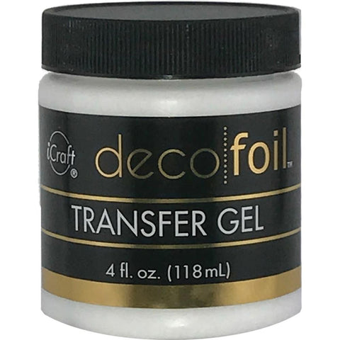 iCraft Deco Foil Transfer Gel 4Fl Oz