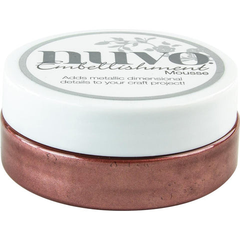 Burnished Bronze - Nuvo Embellishment Mousse