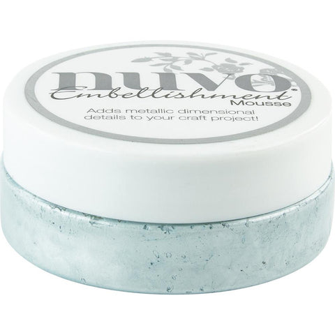 Powder Blue - Nuvo Embellishment Mousse