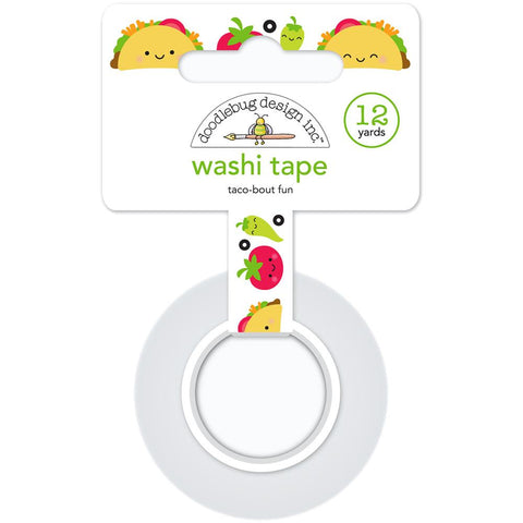 So Much Pun Washi Tape - Taco-Bout Fun