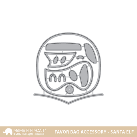 FAVOR BAG ACCESSORY - SANTA ELF