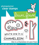 one in a chameleon stamp and die