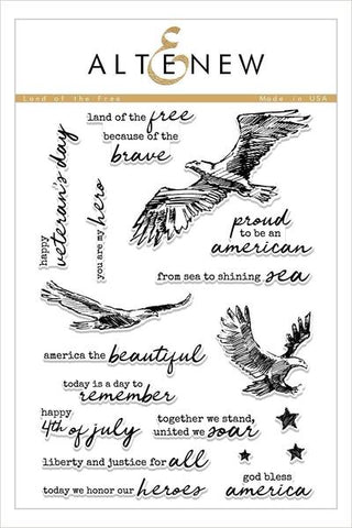 Land of the Free Stamp Set